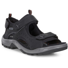 ECCO Offroad Sandalen Heren, black oil
